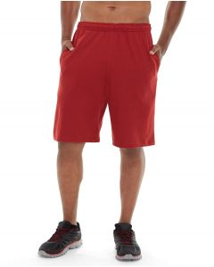 Pierce Gym Short-32-Red