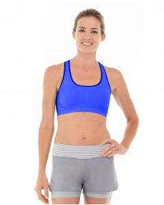 Erica Evercool Sports Bra-M-Blue